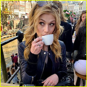 Katherine McNamara Wraps Up Her Trip to the Netherlands!