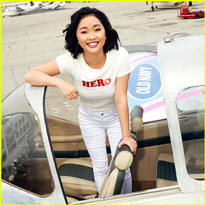 Lana Condor Joins Old Navy To Celebrate International Women's Day