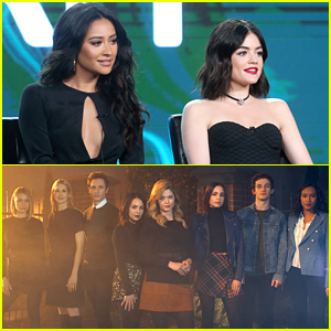 Lucy Hale & Shay Mitchell Share Messages of Support For 'The Perfectionists' Premiere