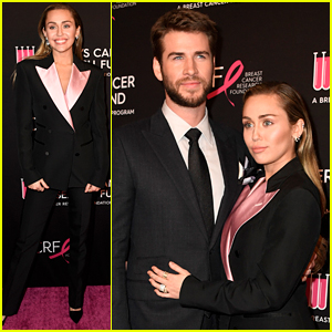Miley Cyrus Performs at An Unforgettable Evening, Liam Hemsworth Shows Support!