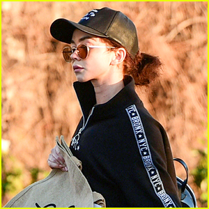 Sarah Hyland Heads Out for Groceries After Filming Season 10 of 'Modern Family'!
