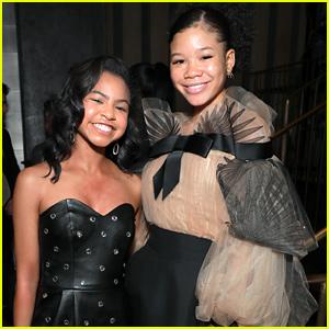 Storm Reid & Navia Robinson Make Stylish Appearance at Netflix's NAACP Image Awards Nominee Celebration
