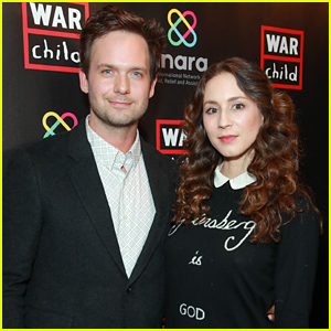Troian Bellisario & Patrick J. Adams Check Out Comedy for a Good Cause