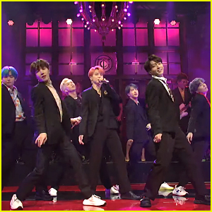 BTS Performs 'Boy with Luv' & 'Mic Drop' on SNL (Videos)