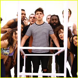 Casey Cott Gets Ready For 'The Who's Tommy' Role In New Pics