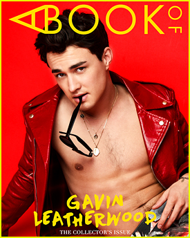 Gavin Leatherwood Goes Shirtless For 'A Book Of' Magazine Cover