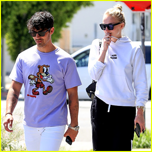 Joe Jonas & Sophie Turner Step Out for Lunch in West Hollywood
