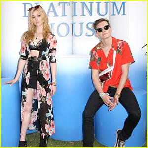 Katherine McNamara & Luke Baines Say That They're Still Not Dating