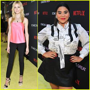 Katherine McNamara & Jessica Marie Garcia Step Out For 'Someone Great' Premiere