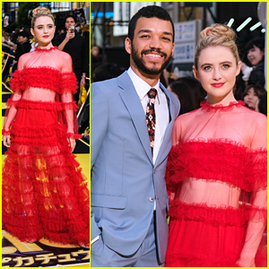 Kathryn Newton & Justice Smith Bring 'Detective Pikachu' To Tokyo