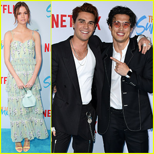 KJ Apa Gets Support From 'Riverdale' Co-Star Charles Melton at 'The Last Summer' Premiere!