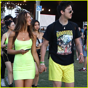 Milo Manheim Hangs Out With Alexis Ren During Coachella 2019