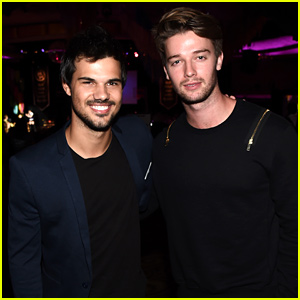Taylor Lautner Gets a Kick Out of Patrick Schwarzenegger's Stagecoach Dance Moves!