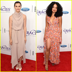 Alyson Stoner & Aisha Dee Attend Gracie Awards 2019