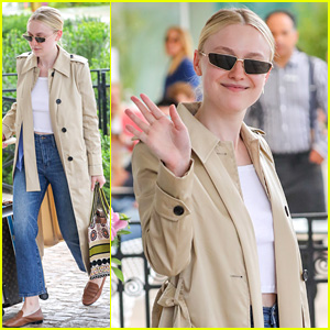 Dakota Fanning Bids Goodbye To Cannes After Red Carpet Debut at the Festival