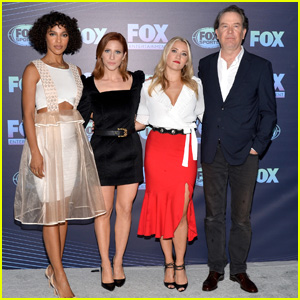 Emily Osment Hits Fox Upfronts With Brittany Snow & Megalyn Echikunwoke After 'Not Just Me' Series Pickup
