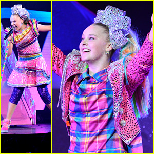 JoJo Siwa Threw The Sparkliest Birthday Party on Stage During D.R.E.A.M. The Tour Concert in LA