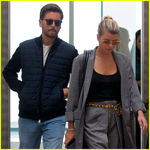 Sofia Richie Cuts Sophisticated Figure While Shopping With Scott Disick