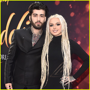 Zayn Malik Joins Zhavia Ward at 'Aladdin' Premiere in LA