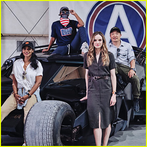 Candice Patton, Danielle Panabaker & Nafessa Williams Visit Troops in Kuwait on USO Tour