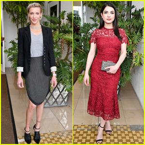 Katie Cassidy & Niki Koss Support Women in Film in LA!