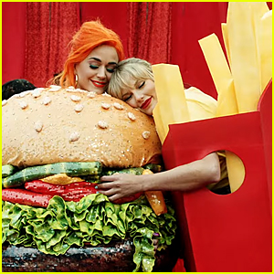 Taylor Swift & Katy Perry Hug in 'You Need To Calm Down' Music Video!