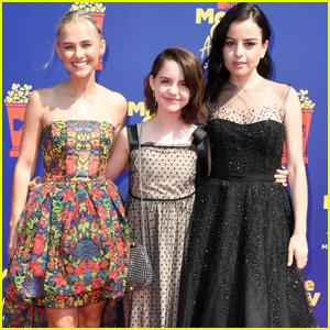 McKenna Grace, Madison Iseman & Katie Sarife Bring 'Annabelle' to MTV Movie & TV Awards 2019