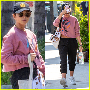 Sarah Hyland Hits the Gym in LA After Her Recent Hospital Stay