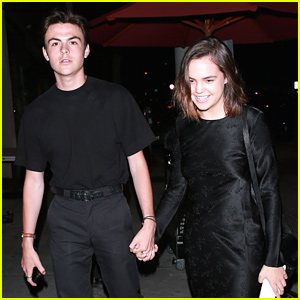 Bailee Madison & Blake Richardson Hold Hands On Date Night!