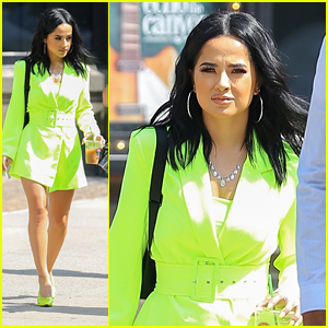Becky G Stuns in Neon Green Ahead of Amazon Prime Day Concert