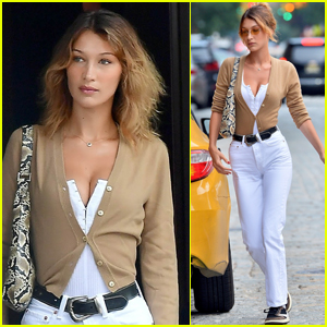 Bella Hadid Steps Out in NYC with Blonder Hair!