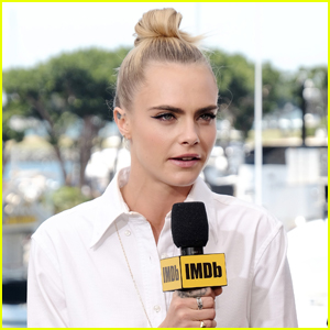 Cara Delevingne Boards IMDb Yacht at Comic-Con 2019!