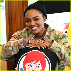 China Anne McClain Joins Wendy's at Comic-Con 2019 Ahead of 'Black Lightning' Panel