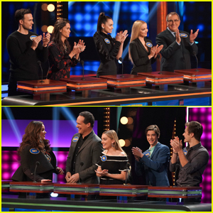 Dove Cameron & 'Descendants' Cast Take on Meg Donnelly & 'American Housewife' Cast on Family Feud!