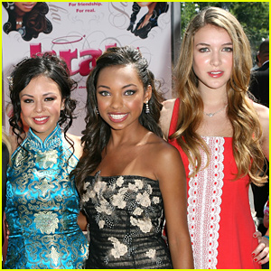 Janel Parrish, Logan Browning & Nathalia Ramos Have 'Bratz' Reunion with Girls Day!