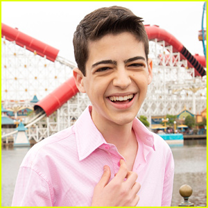 Joshua Rush Shares The First Ever Pic He Took on the 'Andi Mack' Set