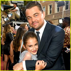 Julia Butters Talks Working With Brad Pitt & Leonardo DiCaprio!