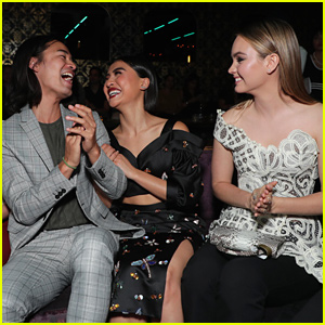 Liana Liberato, Brianne Tju & Haley Ramm Celebrate 'Light as a Feather' at Season Two Premiere