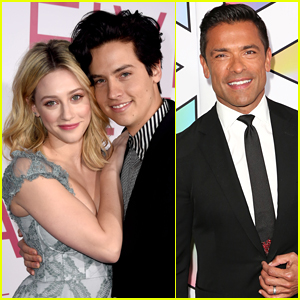 Lili Reinhart & Cole Sprouse's 'Riverdale' Co-Star Mark Consuelos Shares His Advice for Them