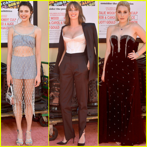 Margaret Qualley Joins Maya Hawke & Harley Quinn Smith at the 'Once Upon a Time in Hollywood' Premiere