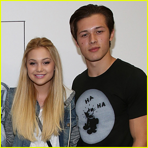 Olivia Holt Calls Leo Howard a 'Buttface' in Hilarious Birthday Tribute!