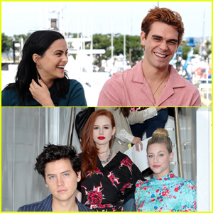 The Stars of 'Riverdale' Promote Season 4 at Comic-Con 2019!