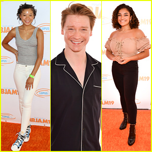 Storm Reid, Calum Worthy, Laurie Hernandez & More Step Out For Michael B. Jordan's MBJAM19 Lupus Event