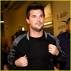 Taylor Lautner Shows Off His Bulging Biceps in New Photos!