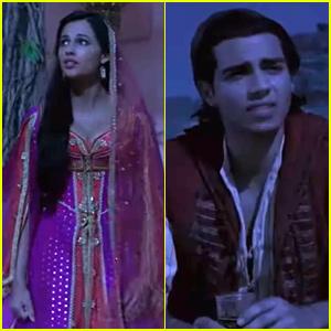 Naomi Scott & Mena Massoud Sing 'Desert Moon' In Cut Scene From 'Aladdin' - Watch Here!