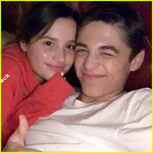 Annie LeBlanc Hangs With Boyfriend Asher Angel After Reaching Almost 8 Million Followers on Instagram