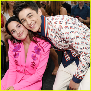 Asher Angel Had The Cutest Congrats Message For Girlfriend Annie LeBlanc After The Teen Choice Awards 2019
