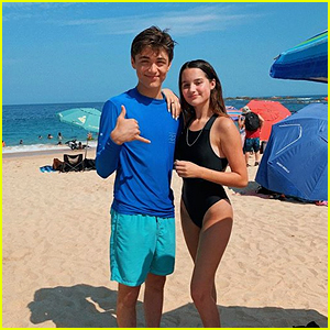 Asher Angel & Annie LeBlanc Are On Vacation in Cabo!