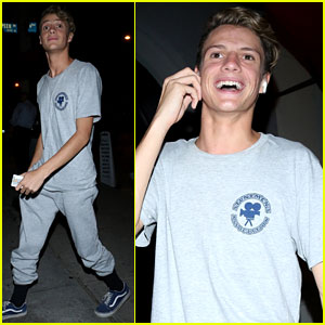 Henry Danger's Jace Norman Grabs Dinner at Craig's in West Hollywood
