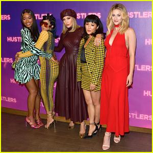 Lili Reinhart & Keke Palmer Be a part of 'Hustlers' Co-Stars at Photo Call